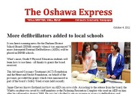 The Oshawa Express post