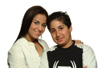 Susie and Nour