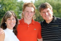 Danny with his parents