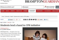 Brampton Guardian post link