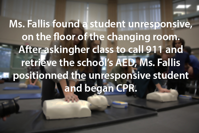 teacher saves student with CPR image