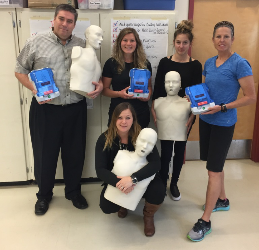 Fraser-Cascade Students Learn to Save Lives