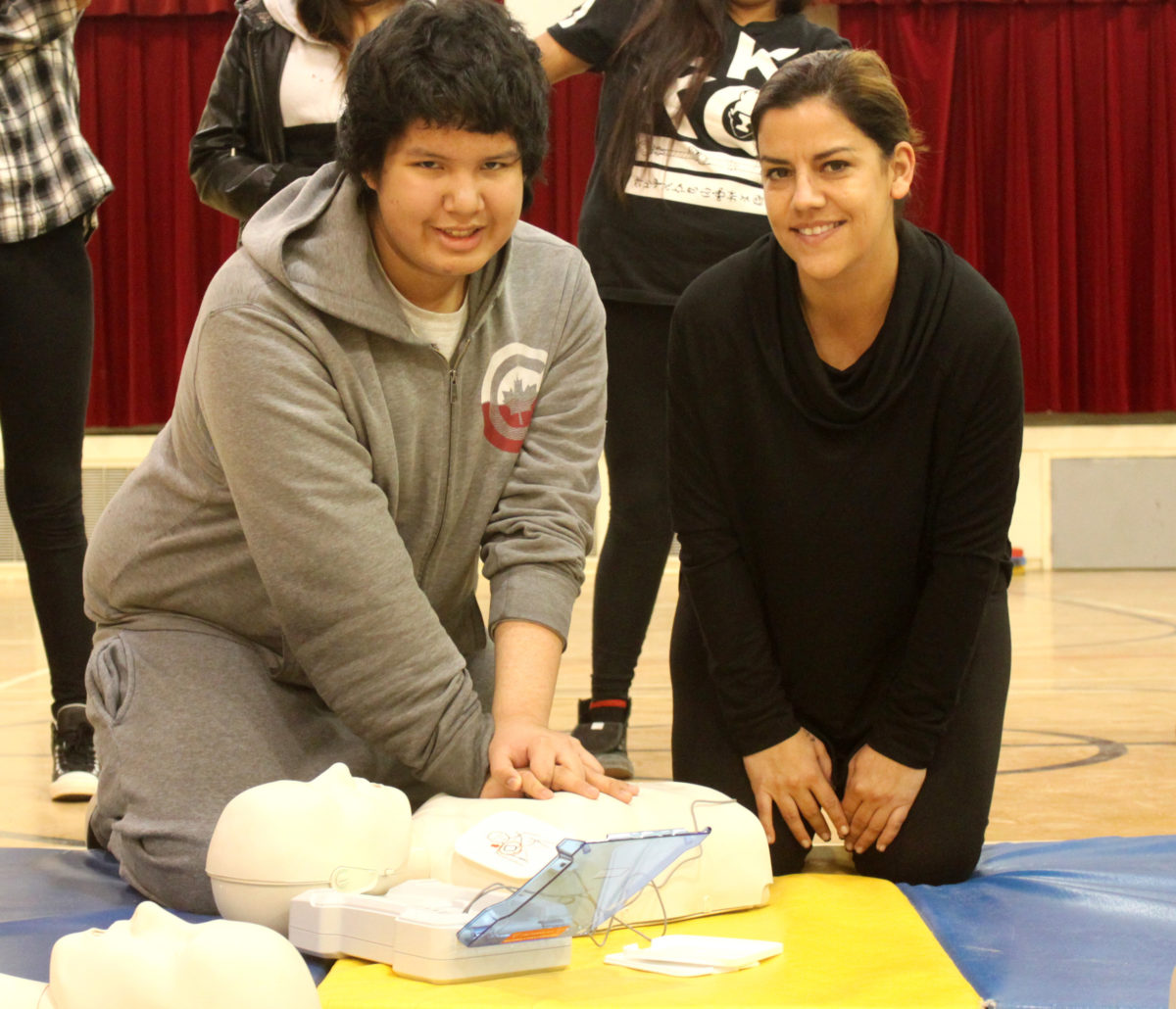 More than 200 students and community members in First Nation Communities of Whitedog and Grassy Narrows to be empowered  with lifesaving skills