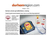 Durham Region post