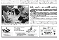 Chemainus Valley Courier post