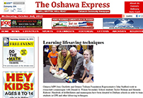 Oshawa Express post