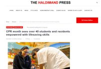 The Haldimand Press post thumbnail